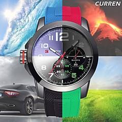 CURREN Luminous Hands Silicone Band Sports Watches Men Luxury Brand Shock Fashion Casual Military Quartz Watch