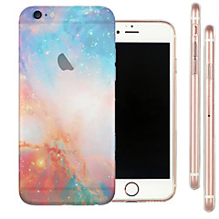 Close Starry Semi-Transparent Sky TPU Soft Case for iPhone 6s 6 Plus