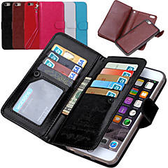iPhone 7 Plus DE JI PU Leather  Wallet  With 9 Card Slot Flip Case For iPhone 6 Plus/6S Plus