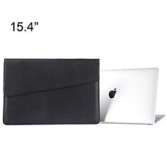맥북에 대한 케이스 가방을 들고 슬림 PU 가죽 노트북 슬리브는 망막과 '15.4 프로 봉투 디자인