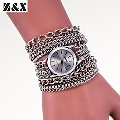 Women's Fashion  Chain Alloy Quartz  Analog Wrist Watch(Assorted Colors)