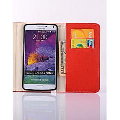 PU lompakko muoti haltija matkapuhelin suojakotelo Samsung Galaxy Note 5/4 huomautuksen / Note3 / Note2 valikoituja väri