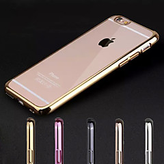 Til iPhone X iPhone 8 iPhone 7 iPhone 7 Plus iPhone 6 iPhone 6 Plus Etuier Belægning Transparent Bagcover Etui Helfarve Hårdt PC for Apple