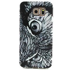 padrão de olho de águia pintada TPU tampa traseira macia para galáxia S6 / S5 / s5mini s4 / s3 s4mini / s3mini