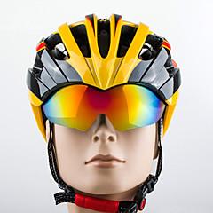 Bjerg / Vej / Sport - Dame / Herre / Unisex - Cykling / Bjerg Cykling / Vej Cykling / Rekreativ Cykling - Hjelm (Gul / Hvid / Rød /