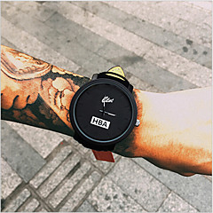 Fashion Leather Strap Unisex Watches Men's Quartz Casual Watch Women's Dress Watch Sports Military Relojes Geneva Wrist Watch Cool Watch Unique Watch