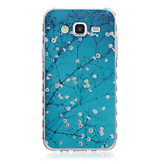 Varten Samsung Galaxy kotelo Kuvio Etui Takakuori Etui Kukka TPU SamsungJ7 / J5 / J3 / J2 / J1 Ace / J1 / Grand Prime / Core Prime /