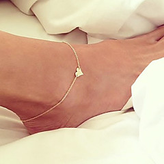 Fashion LOVE Charm Chain Anklet Foot Bracelet Beach Sandal Barefoot Jewelry