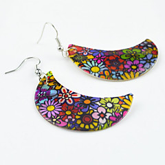 Earring Flower Drop Earrings Jewelry Women Party / Daily / Casual / Sports Cowry 1pc