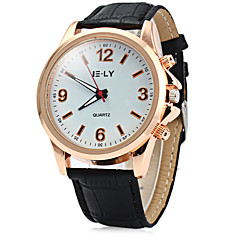 IE-LY Double Scales Male Quartz Watch