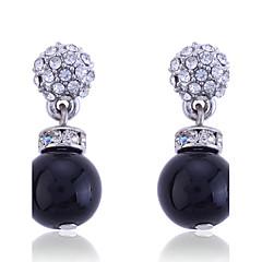 European Style Fashion Crystal Pearl Earrings