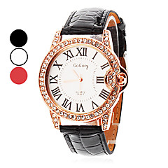 Women's Watch Diamante Roman Numerals Dial Cool Watches Unique Watches Fashion Watch