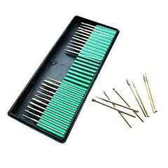 attrezzi del chiodo di rettifica trapano chiodo testa stridente stridente kit testa strumento di file arte mulino asta manicure 30 metallo