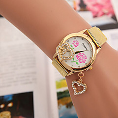 Woman And Men Alloy Pendant Wrist Watch