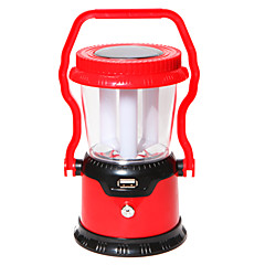 Portable Solar Rechargeable / AC Charging 3 pcs Lamp Outdoor Camping Lantern Handle Light