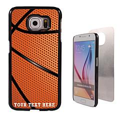 personlig sag - basketball design metal tilfældet til Samsung Galaxy s6 / s6 kant / note 5 / a8 og andre