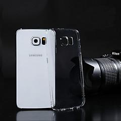 gennemsigtigt pc bagsiden tilfældet for Samsung Galaxy S3 / S4 / S5 / S6 / s6 kant / s6 kant plus