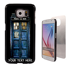 For Samsung Galaxy Etui Mønster Etui Bakdeksel Etui Tegneserie PC SamsungS6 edge plus / S6 edge / S6 / S5 Mini / S5 / S4 / A8 / A7 / Note