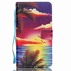 Na Samsung Galaxy Note Portfel / Etui na karty / Z podpórką / Flip Kılıf Futerał Kılıf Krajobraz Skóra PU Samsung Note 5 / Note 4