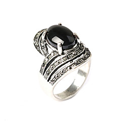 Ringen Modieus Feest Sieraden Hars / Verzilverd Statementringen 1 stuks,One-Size Gouden