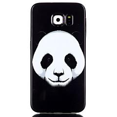 Para Samsung Galaxy Capinhas Estampada Capinha Capa Traseira Capinha Animal TPU Samsung S6 edge plus / S6 edge / S6 / S5