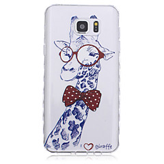 For Samsung Galaxy Note Mønster Etui Bagcover Etui Dyr TPU for Samsung Note 5 Note 4 Note 3