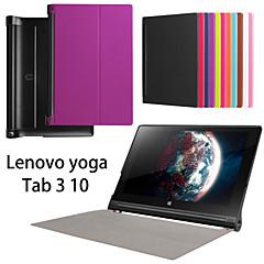 suojaava tabletti tapauksissa nahka tapauksissa kiinnike kotelo Lenovo yoga3 10 tuumaa