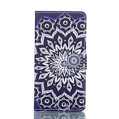 Sun Flower Painted PU Phone Case for Galaxy S6edge plus/S6edge/S6/S5/S5mini