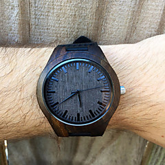 Mens Dark Ebony Real Wood Watch, Engraved Wooden Watch, Gift For Him, Mens Wooden Watch Wrist Watch Cool Watch Unique Watch