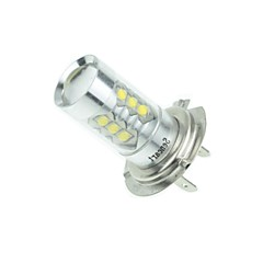 H7 PX26D 80W 16xCREE Cold White 4500LM 6500K for Car Fog Light (AC/DC12V-24)