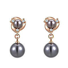 Imitation Pearl Earring Drop Earrings Party / Daily / Casual / Sports 2pcs