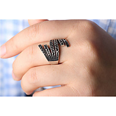 Hot Sales Vintage Jewelry Women Exaggeration Statement Ring