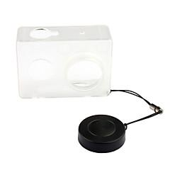 pannovo Kunststoffgehäuse + Objektivdeckel für xiaomi yi transparent