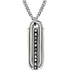 Hänge Halsband ( Rostfritt stål , Silver ) - till Party / Dagligen / Casual / Sport