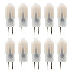 Ywxlight® 10 pcs g4 4w 14 * 2835smd 300-360 lm quente / natural / fresco branco t decorativo bi-pin luzes dc 10-12 v