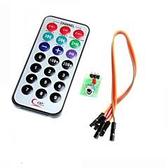 hx1838 infravörös távirányító modul kódját Infravörös távirányító Arduino