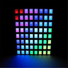 8x8 rgb piazza ha portato a matrice di punti per Arduino - nero + bianco