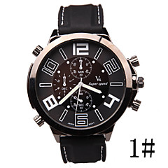 The New Men's Recreational Vehicle Line V6 Student Racing Silica Digital Large Dial Outdoor Sports Hand Wrist Watch Cool Watch Unique Watch