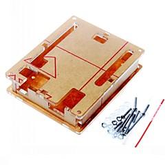περίβλημα περίπτωση διαφανές ακρυλικό κουτί διαφανές κάλυμμα για Arduino UNO R3 σκάφους r3