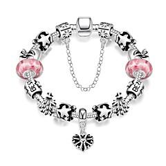 Alloy / Silver Plated Bracelet Charm Bracelets / Vintage Bracelets Party / Daily / Casual 1pc
