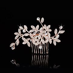 Bruiloft / Feest - Haarkammen (Kristal , Gouden)