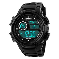Skmei® Men's  Outdoor Sports Multifunction LED Watch 50m Waterproof Assorted Colors Wrist Watch Cool Watch Unique Watch Fashion Watch