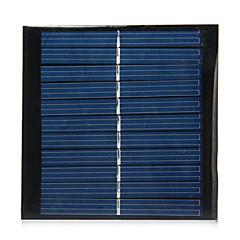 1W 5.5V Output Polycrystalline Silicon Solar Panel for DIY