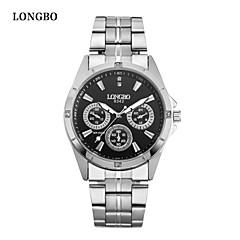 LONGBO Lover's Watches with Rhinestone Fashion Women Watch & Wen Watch Luxury Brands Quartz Wristwatch free shipping