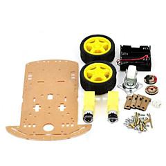 smart bil chassis kit til Arduino (virker med de officielle Arduino bestyrelser)