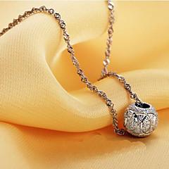 Joyas Collares con colgantes / Collares de cadena Boda / Fiesta / Diario / Casual Plateado 1 pieza Mujer Regalos de boda