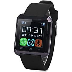 smartwatch u8, controle de câmera / mensagem / media / mãos chamadas gratuitas para Android / iOS