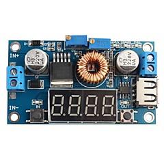 dc 5a portato guidare caricatore di batteria al litio con modulo DC-DC voltmetro amperometro
