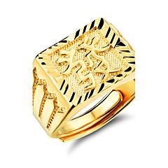 للرجال خواتم حزام والمجوهرات مطلية بالذهب مجوهرات من أجل زفاف حزب يوميا فضفاض الرياضة