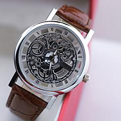 L.WEST Men's Hollow Out Analog Quartz Watch Wrist Watch Cool Watch Unique Watch